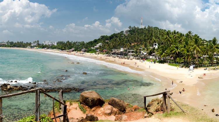 Marissa Bach Parrot Rock Sri Lanka